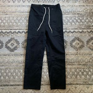 NWT Hurley Black Scout Regular Fit Pants 29x26